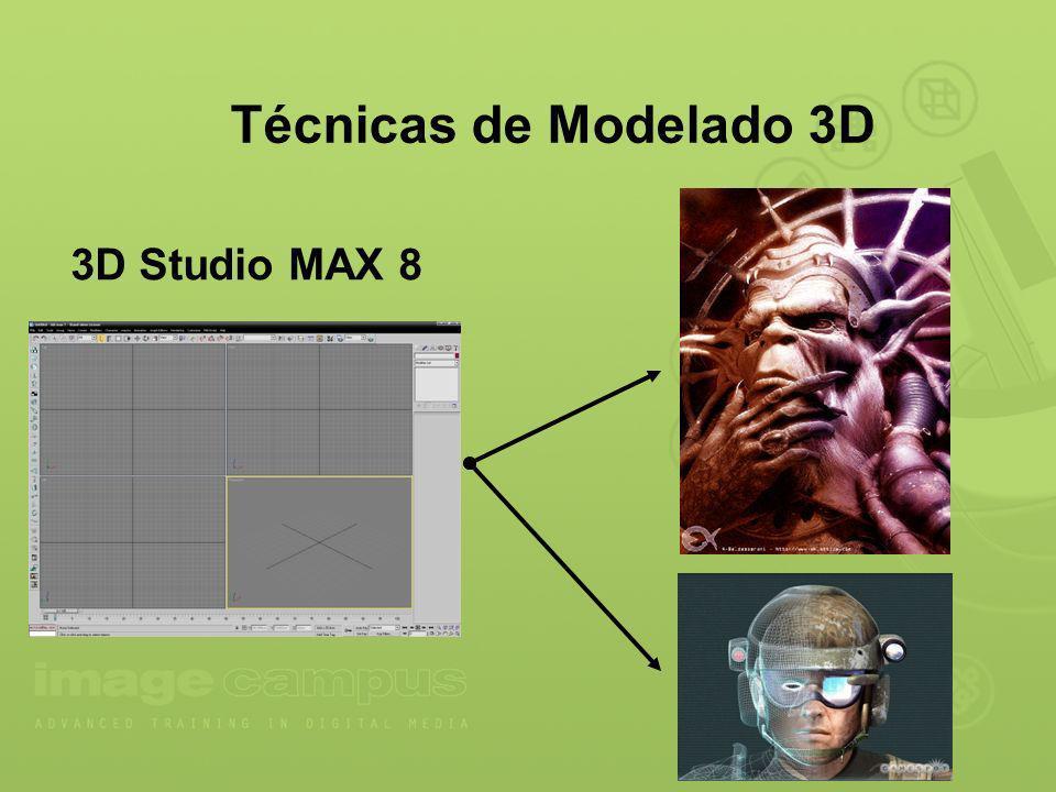 Técnicas de Modelado 3D 3D Studio MAX 8