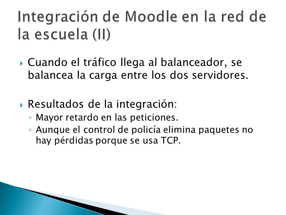 Integración de Moodle en la red de la escuela (II)