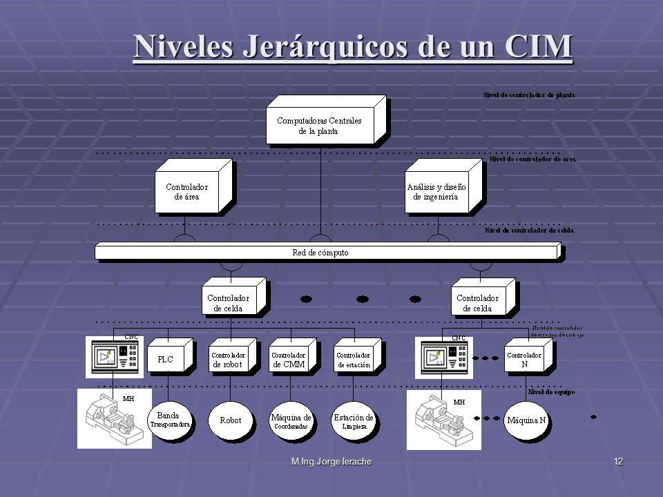 Niveles Jerárquicos de un CIM