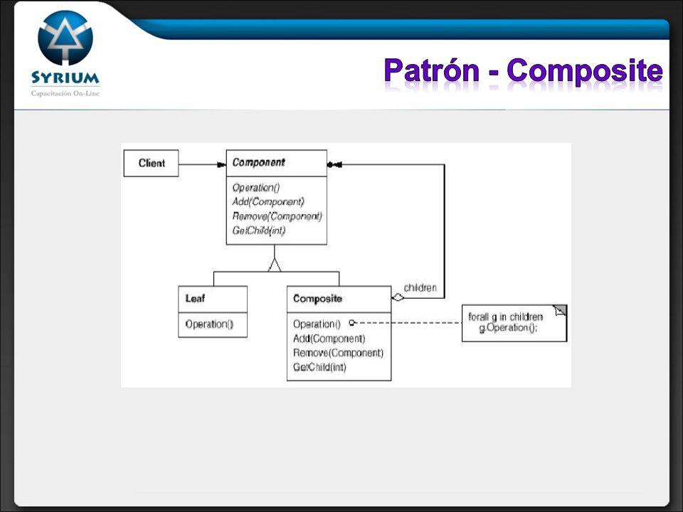 Patrón - Composite