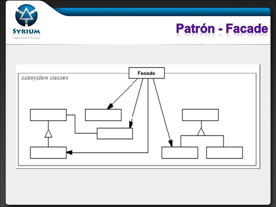 Patrón - Facade