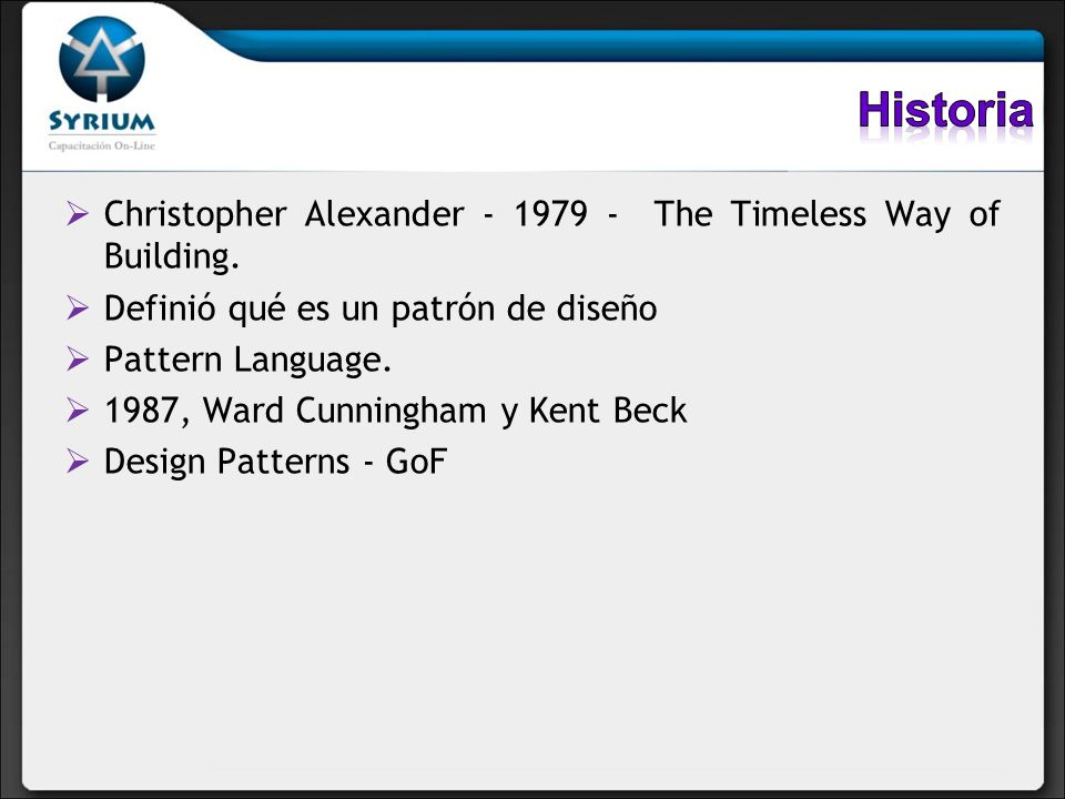 Historia Christopher Alexander The Timeless Way of Building.