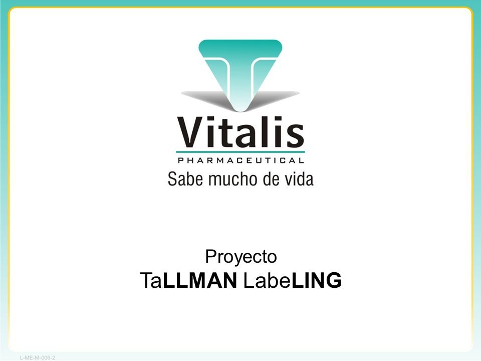 Proyecto TaLLMAN LabeLING