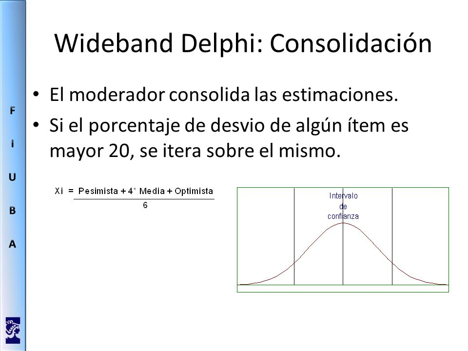 Wideband Delphi: Consolidación