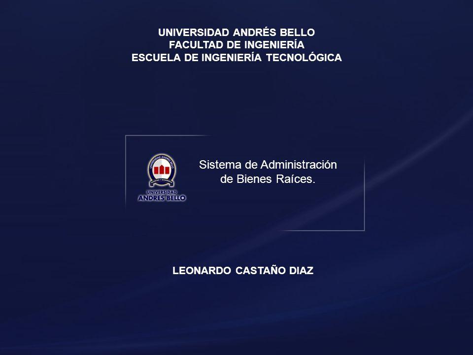 Sistema de Administración de Bienes Raíces.