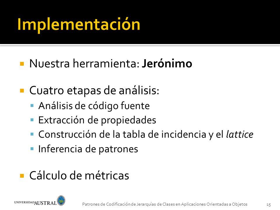 Implementación Nuestra herramienta: Jerónimo