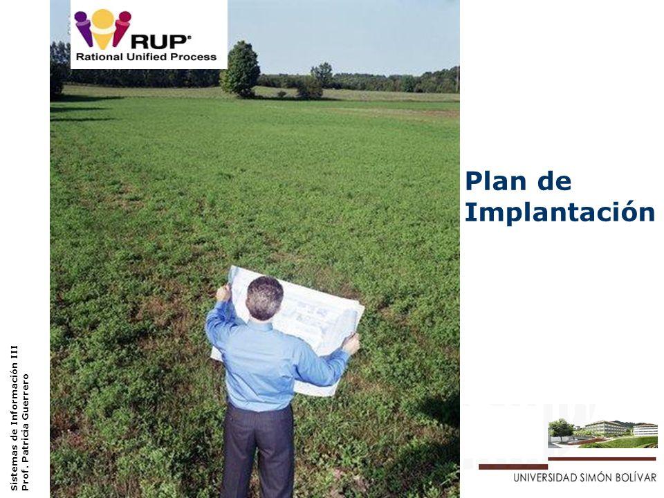 Plan de Implantación Sistemas de Información III