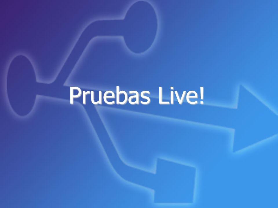Pruebas Live! 20