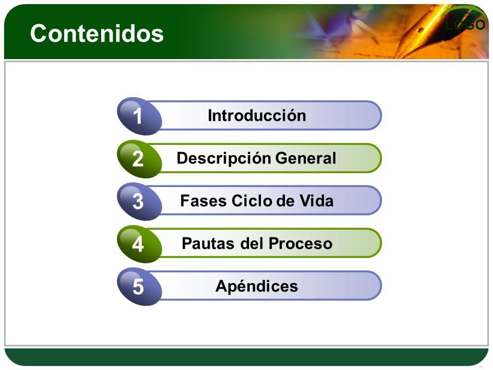 Contenidos 1 2 3 4 5 Introducción Descripción General