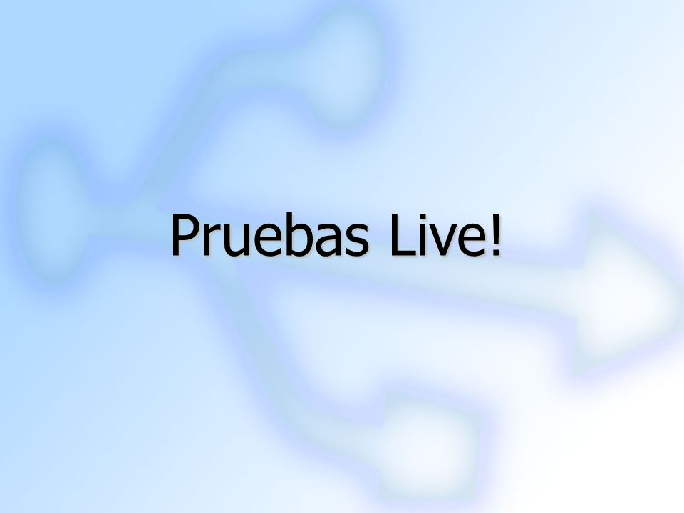 Pruebas Live! 19