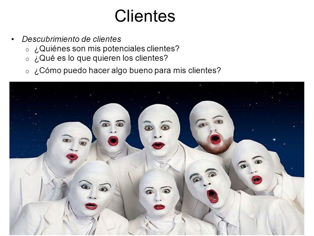 Clientes Descubrimiento de clientes