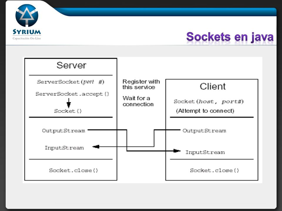 Sockets en java
