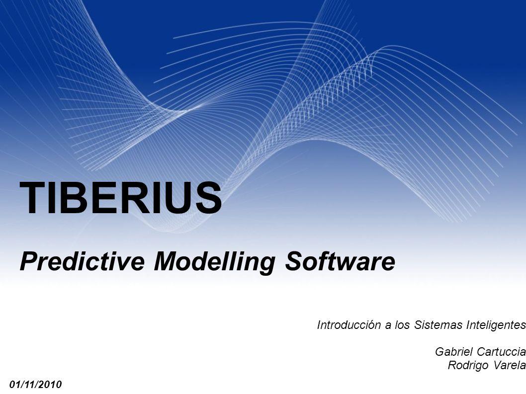 TIBERIUS Predictive Modelling Software