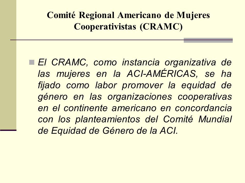 Comité Regional Americano de Mujeres Cooperativistas (CRAMC)