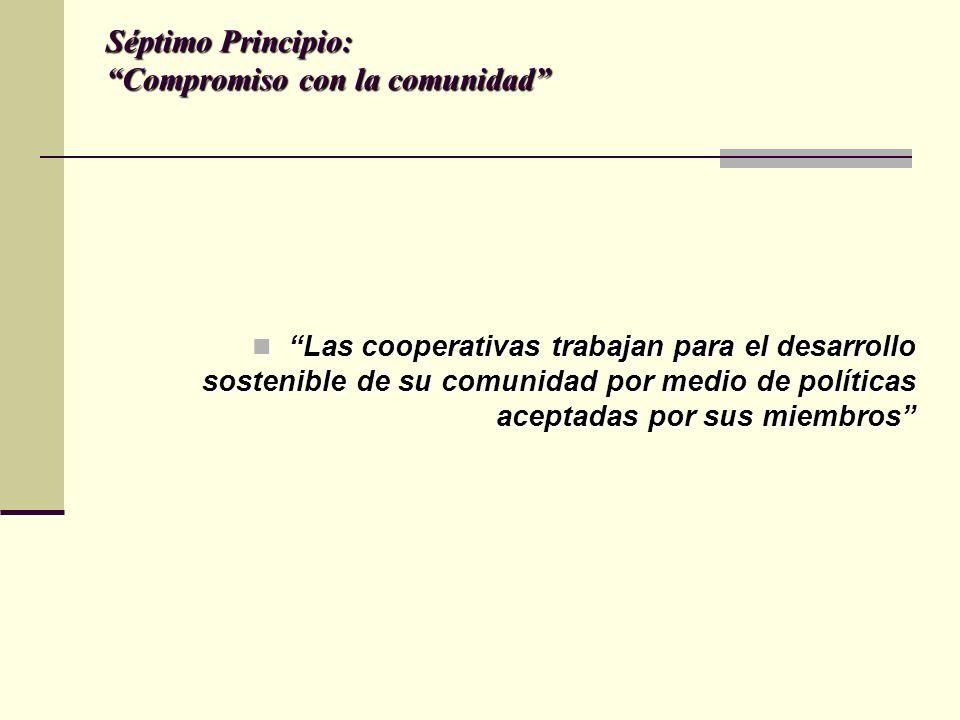 Séptimo Principio: Compromiso con la comunidad