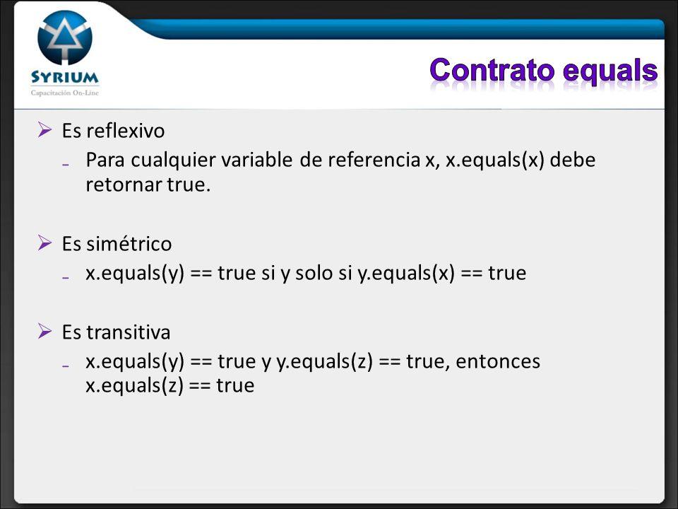 Contrato equals Es reflexivo