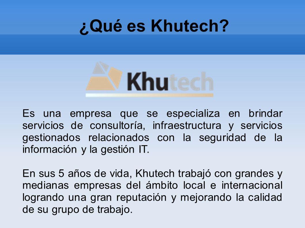 ¿Qué es Khutech