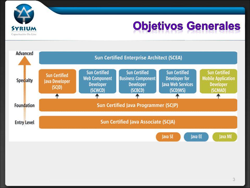 Objetivos Generales Entry Level – nivel básico
