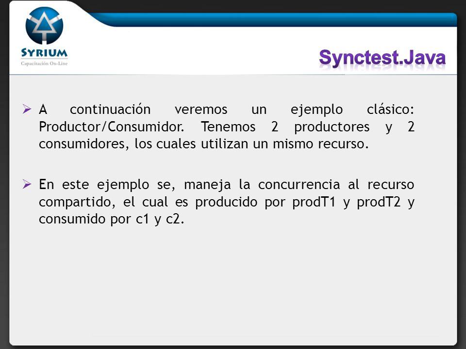 Synctest.Java