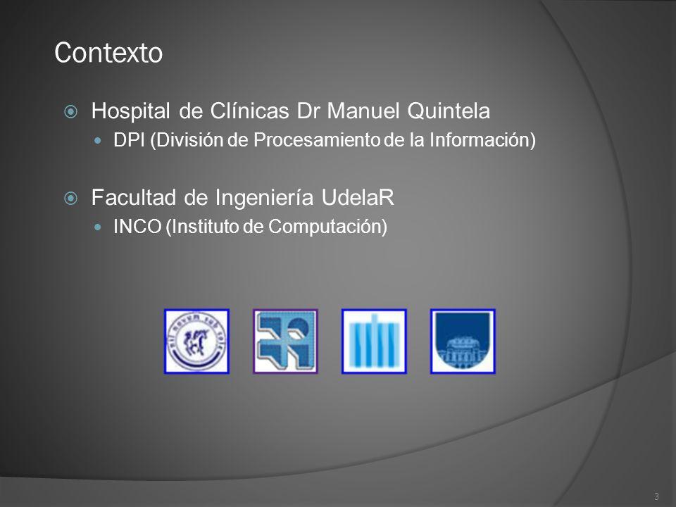 Contexto Hospital de Clínicas Dr Manuel Quintela