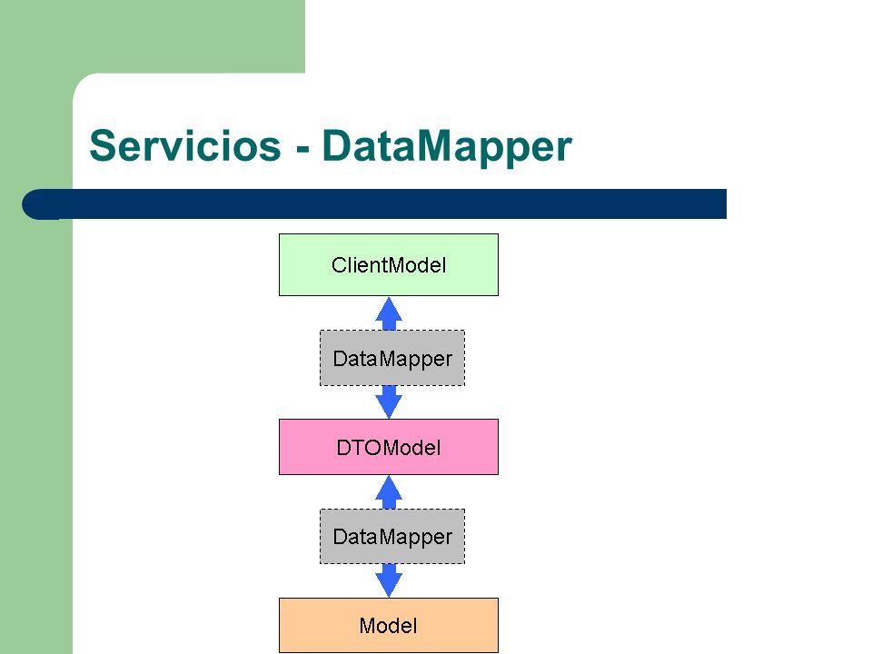 Servicios - DataMapper