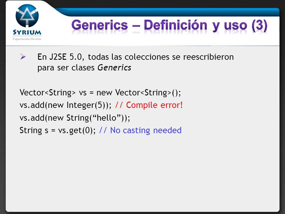 Generics – Definición y uso (3)