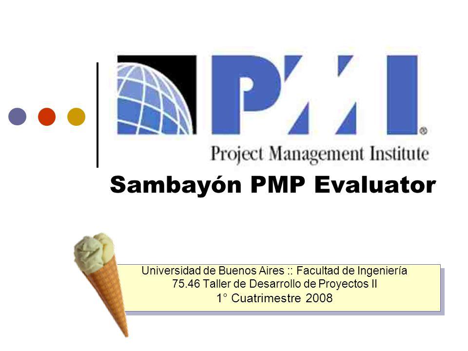 Sambayón PMP Evaluator