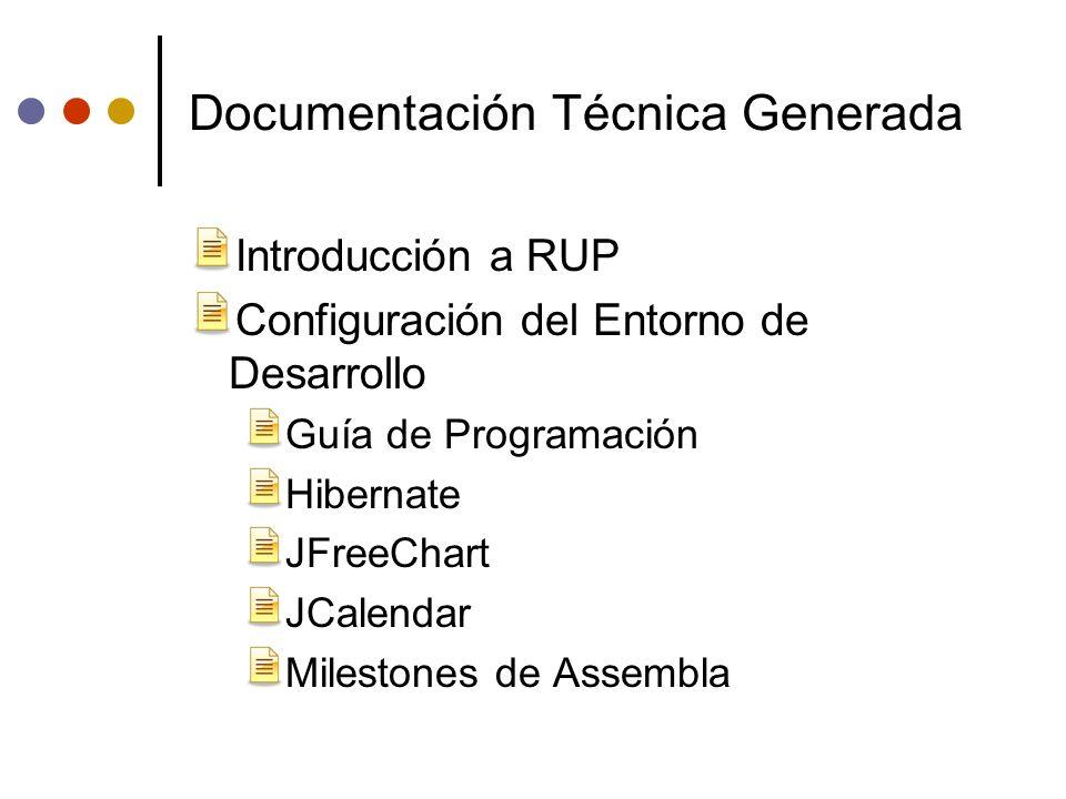 Documentación Técnica Generada