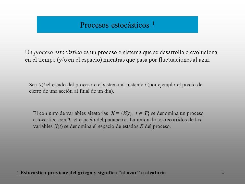 Procesos estocásticos 1