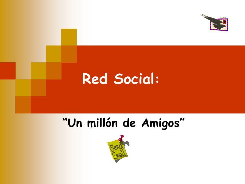 Red Social: Un millón de Amigos