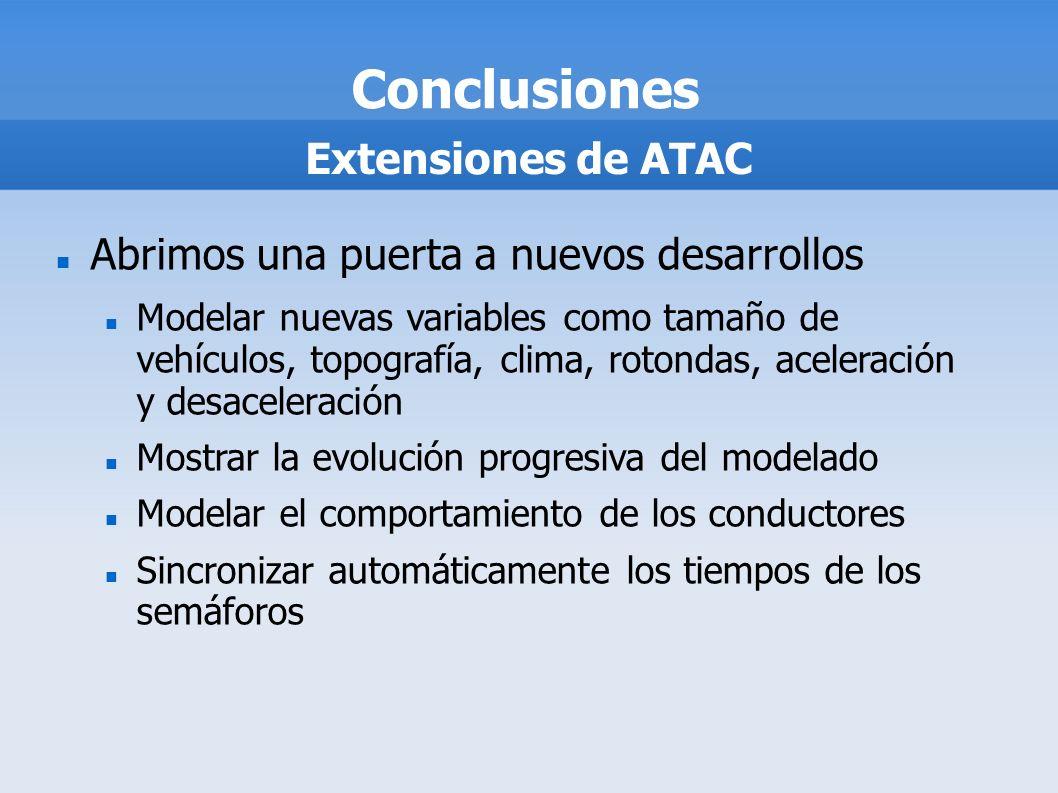 Conclusiones Extensiones de ATAC
