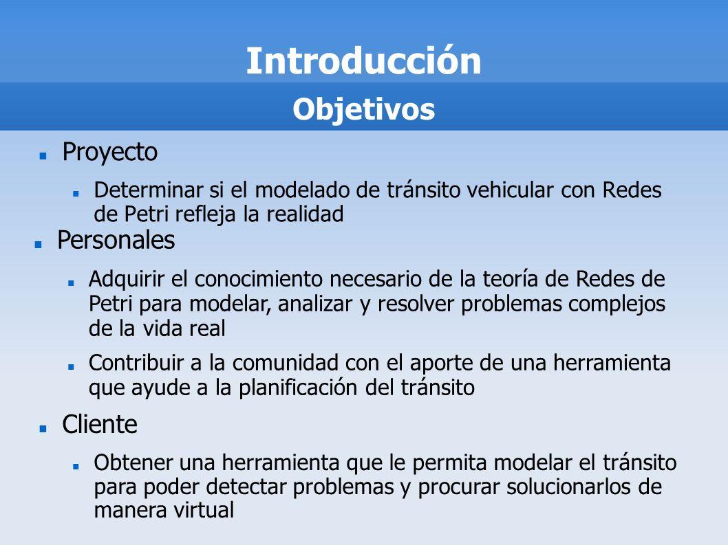 Introducción Objetivos Proyecto Personales Cliente