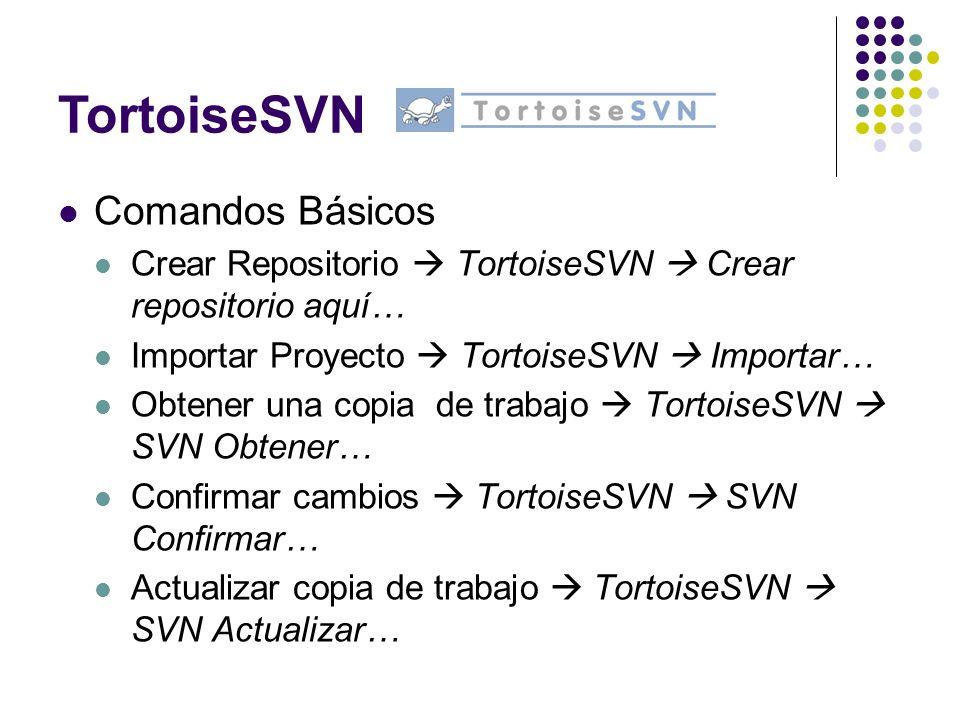 TortoiseSVN Comandos Básicos