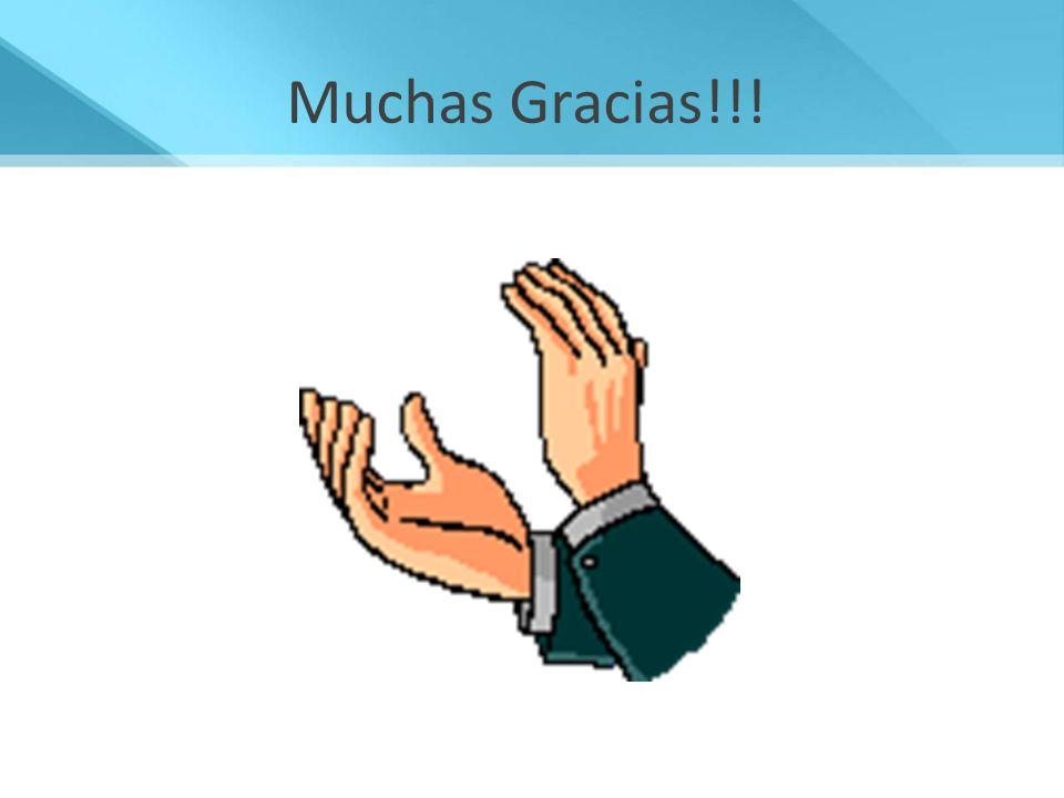 Muchas Gracias!!! 18