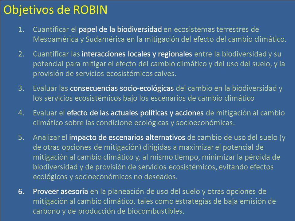 Objetivos de ROBIN
