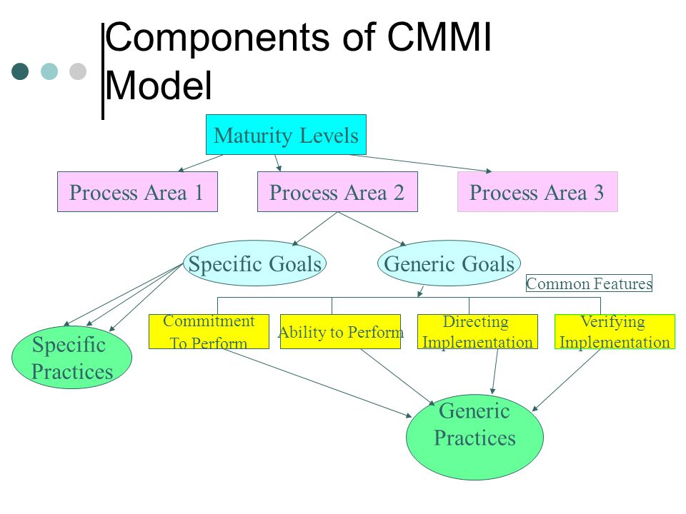 Components of CMMI Model