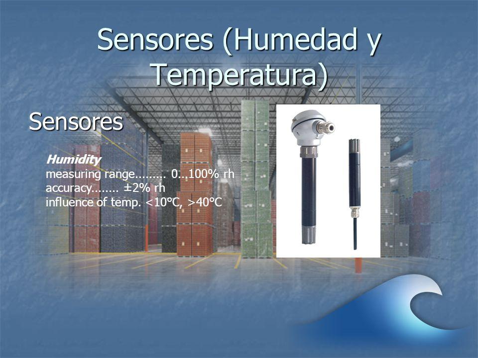 Sensores (Humedad y Temperatura)