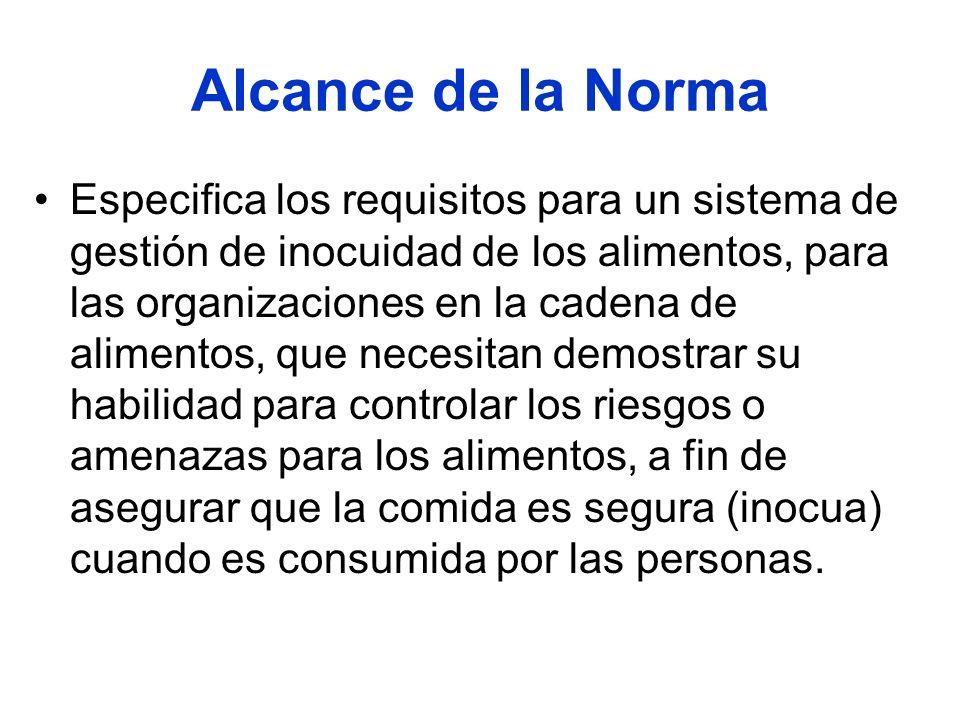 Alcance de la Norma