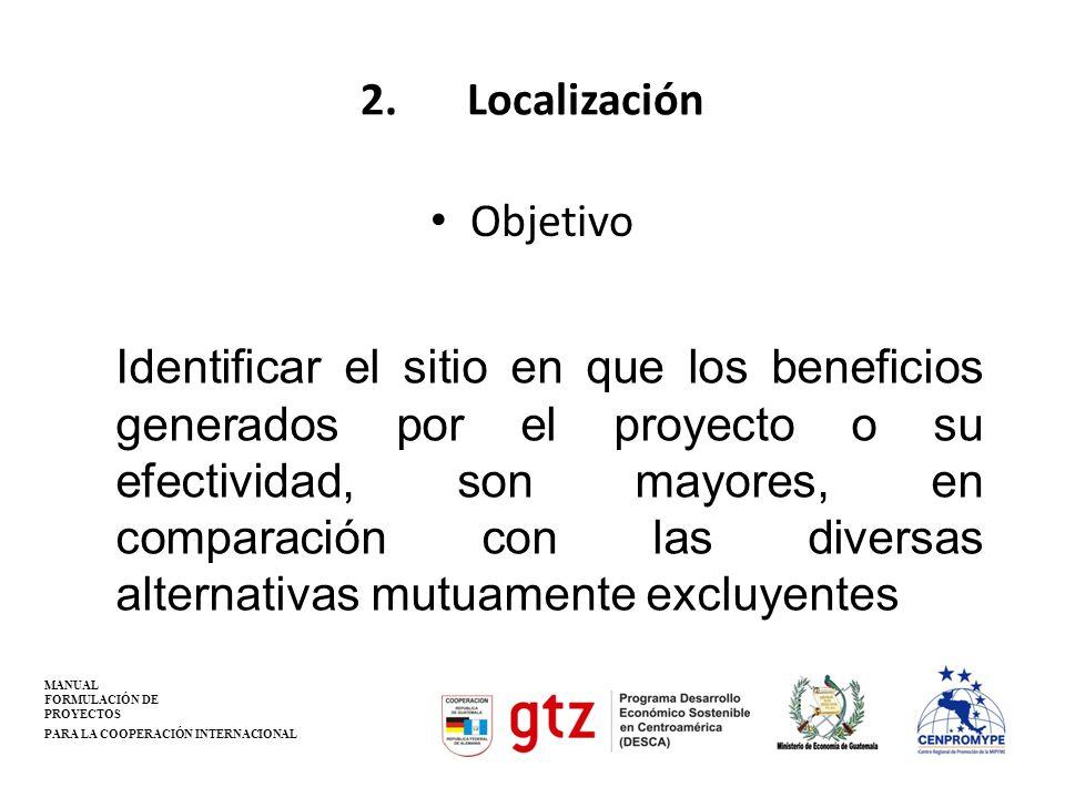 2. Localización Objetivo