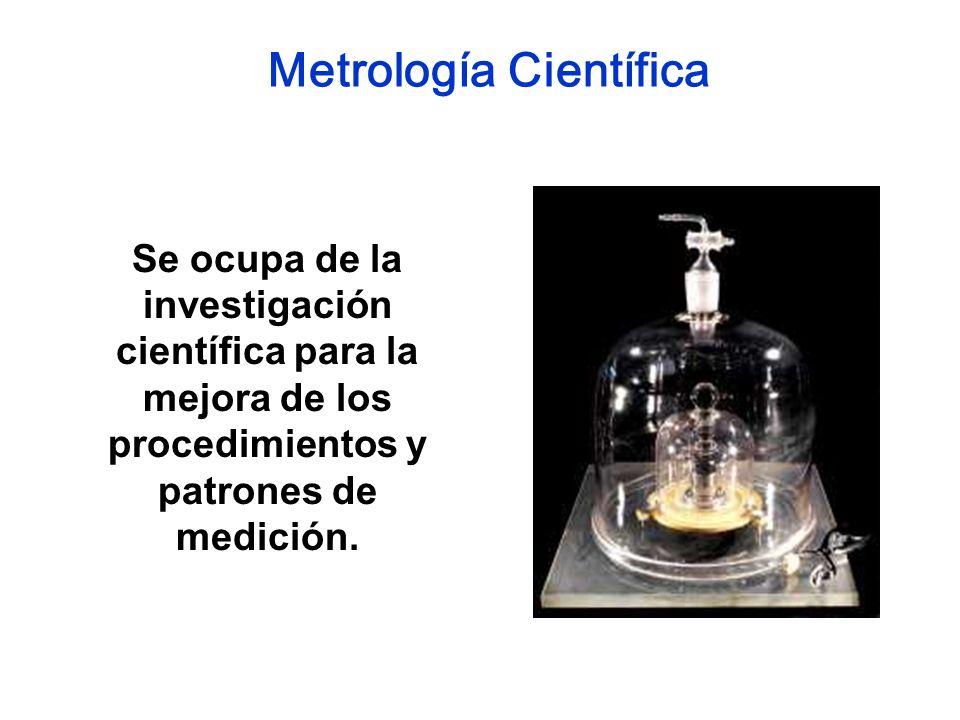 Metrología Científica