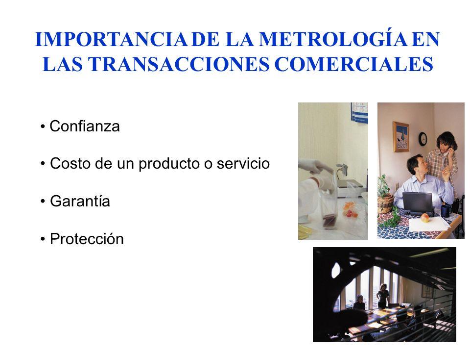 IMPORTANCIA DE LA METROLOGÍA EN LAS TRANSACCIONES COMERCIALES