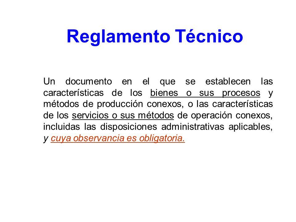 Reglamento Técnico