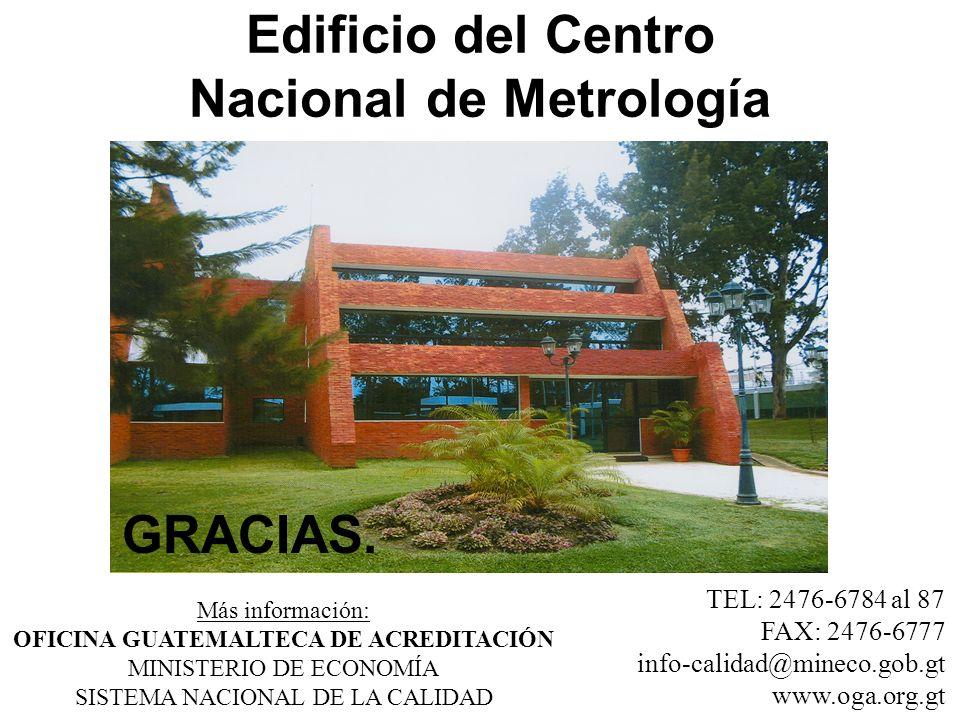 Edificio del Centro Nacional de Metrología