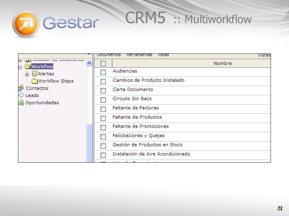 CRM5 :: Multiworkflow