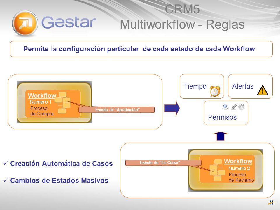 CRM5 Multiworkflow - Reglas
