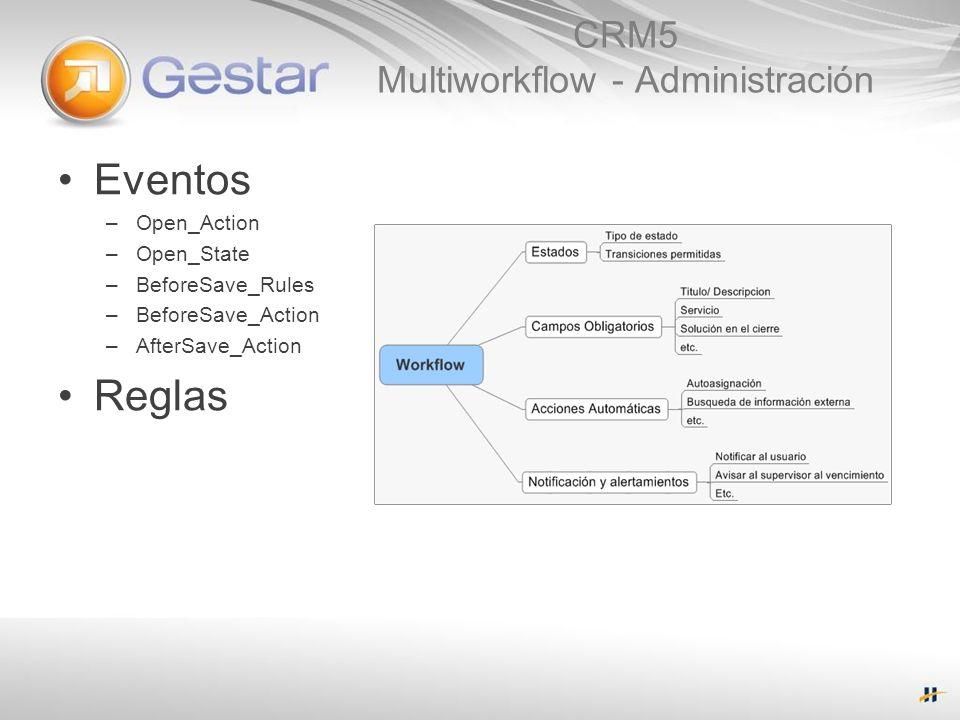CRM5 Multiworkflow - Administración