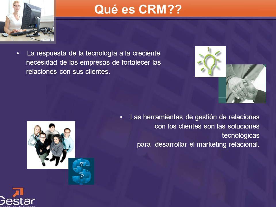 Qué es CRM La respuesta de la tecnología a la creciente