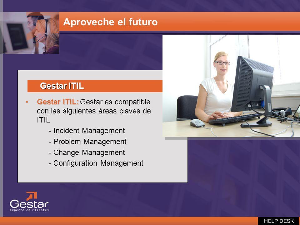 Aproveche el futuro Gestar ITIL