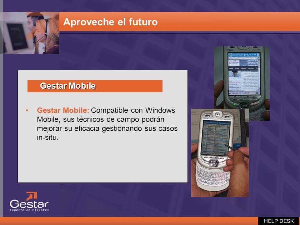 Aproveche el futuro Gestar Mobile