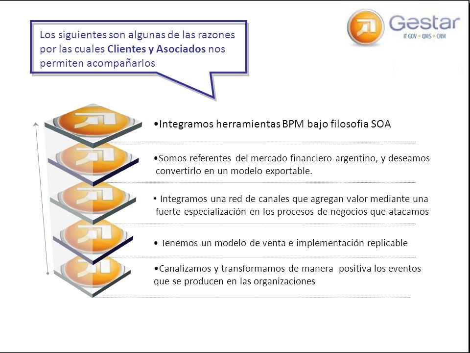 Integramos herramientas BPM bajo filosofia SOA